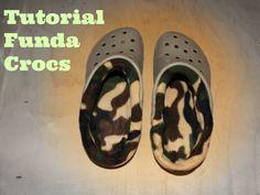 Mi blog de costura: Tutorial funda Crocs