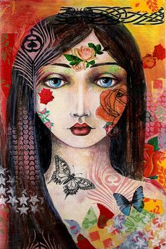 Gypsy goddess. by raccoon906, via Flickr