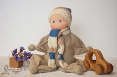 Waldorf boy doll, boys first baby doll, Waldorf baby doll, teething doll, Waldorf newborn doll gift. This is not true that only girls love to play