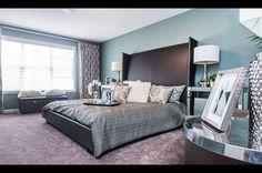 Luxury and style bedroom,sarah barnard interiors portfolio | Master Bedroom- Allard Showhome I worked on, Edmonton, Alberta Jayman ...