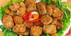 Millet meatballs and integral rice with vegetables Vegetable Rice, Tandoori Chicken, Vegetarian, Meat, Vegetables, Cooking, Ethnic Recipes, Food, Kitchen