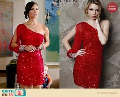 Carmen's red sequinned one-shoulder dress on Devious Maids Luna Fashion, Fashion Tv, Fashion Outfits, Roselyn Sanchez, Swag Style, My Style, Ana Ortiz, Devious Maids, Michelle Trachtenberg