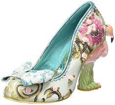 Irregular Choice Blushing Bird, Women's Closed-Toe Pumps Funky Shoes, Crazy Shoes, Me Too Shoes, Pumps, Heels, Irregular Choice Shoes, Closed Toe Shoes, Shoe Art, Shoes