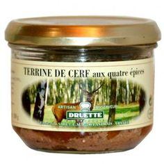Terrine de cerf aux 4 épices 180gr - 4.19€