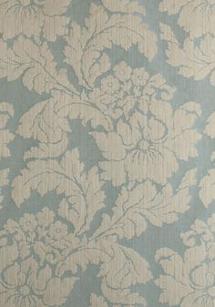 CASERTA DAMASK, Aqua, AW72982, Collection Manor from Anna French