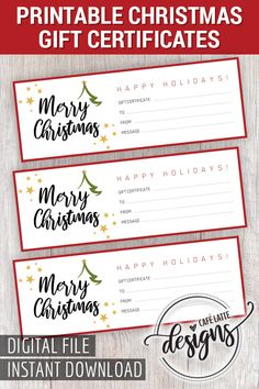 29 best printable gift certificates images on pinterest free