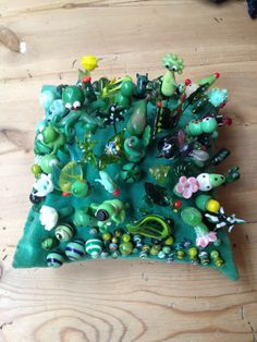 Green nipsenåle