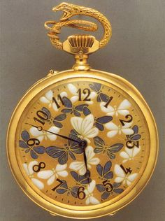 Rene Lalique  pocket watch