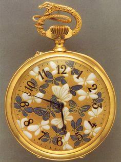 Rene Lalique pocket watch