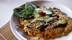 Vegiterra: Okonomiyaki: Vegan Japanese Omelette