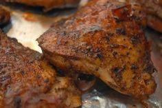 Met kruiden gemarineerde kip uit de Airfryer
