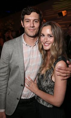 Pin for Later: Adam Brody et Leighton Meester Font une Rare Apparition Publique