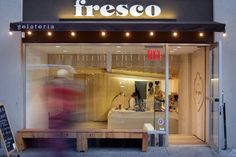 Fresco gelateria, NYC commercial design, Nicholas Karytinos, decor8