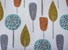 iLiv Scandi Trees fabric