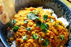 Slow Cooker Indian-Spiced Lentils