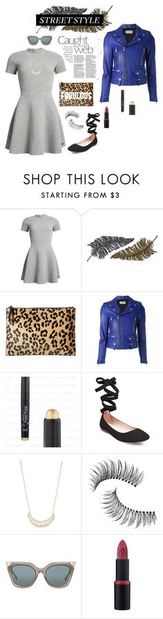 """Street Style"" by fashion-holy ❤ liked on Polyvore featuring Superdry, Paperself, McQ by Alexander McQueen, Yves Saint Laurent, Steve Madden, Trish McEvoy and Fendi"