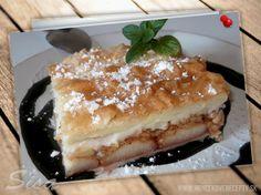 Jablkový koláč z lístkového cesta Tiramisu, Ethnic Recipes, Food, Kitchen, Cooking, Meal, Essen, Hoods, Home Kitchens