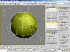 3DsMax5   13강 Edit Ploy,Mesh 개념 설명 1