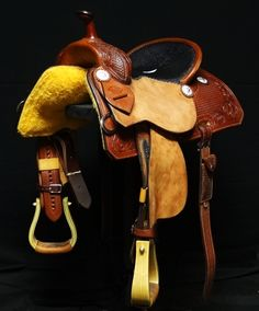 Forty-Rod Barrel Saddle