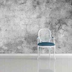papier peint trompe l'oeil de design industriel