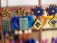Terracotta Earrings trendy #L'amour