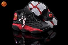 red black Women Air Jordans 13