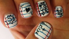 Orchid style: Nails   Uñas vuelta al cole // Back to school nails