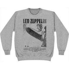 Led Zeppelin Performin Sweatshirt