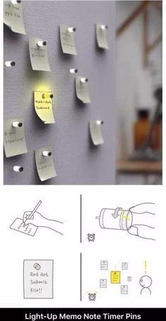 Light up pins
