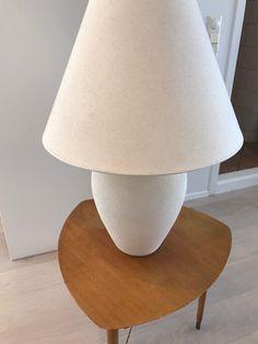 FINN – Stor og flott lampe selges, Høyde: 70cm, Diameter skjerm: 50cm