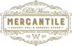 The Pioneer Woman Mercantile is a destination deli, general store, and bakery in the heart of Osage County, Oklahoma.