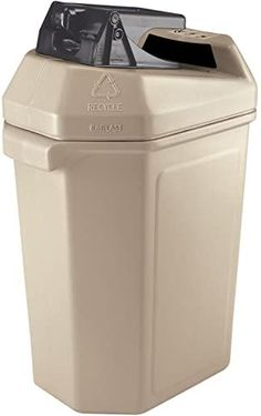 Buy Commercial Zone Canpactor Recycling Container 30 gal.- Beige . online - Ppwonderfulrange#beige #buy #canpactor #commercial #container #gal #online #ppwonderfulrange #recycling #zone Indoor Recycling Bins, Recycling Containers, Modern Home Office Desk, Industrial Ceiling Lights, Recycle Cans, Janitorial Supplies, Aluminum Cans, Garbage Can, Modern Pendant Light