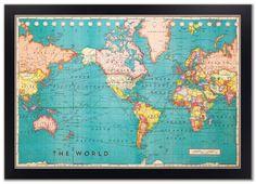 Vintage world map printable map print instant digital download cork board world map framed cork board map world map map on cork cork board map world map cork board travel map push pin map gumiabroncs Image collections