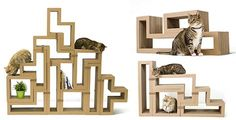 Introducing Katris Modular Cardboard Cat Furniture — hauspanther