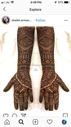 Wedding Mehndi Designs, Latest Mehndi Designs, Henna Designs, Mehndi Desighn, Mehendi, Elegant, Drawings, Fashion, Henna Art Designs