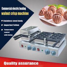 1PC Hot sale 220V Electric commercial walnut sweet cake machine ;walnut crisp maker; waffle maker //Price: $US $458.00 & FREE Shipping //     #homeappliance24