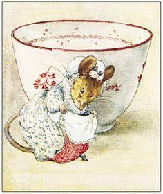 Beatrix Potter illustrations via Illaria of le mani nella marmellata