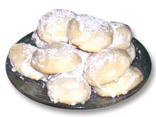 How to Make (Light as an Angel) Anginetti Cookies - The Basic Art of Italian Cooking Italian Christmas Cookies, Italian Cookies, Christmas Desserts, Christmas Baking, Fun Baking Recipes, Bakery Recipes, Cookie Recipes, Dessert Recipes, Recipes Dinner