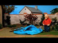 Buurman en buurman Opblaasbadje - YouTube