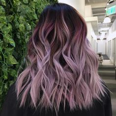 Want to do this hair color highlights, ombre hair color, lilac hair, Lavender Hair, Lilac Hair, Gray Hair, Rose Hair, White Hair, Hair Dye Colors, Ombre Hair Color, Hair Color And Cut, Cool Hair Color