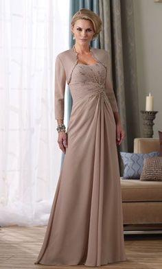 Vestidos Modernos para la Madre de la Novia 2