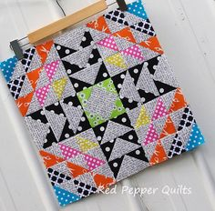 Red Pepper Quilts: Having a Starry Time - Blog Hop