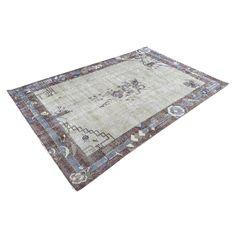 Blue, Grey, Brown Geometric Turkish Area rug Home Decor Items, Home Decor Accessories, Entryway Rug, Floral Rug, Persian Rug, Small Rugs, Floor Rugs, Oriental Rug, Handmade Rugs