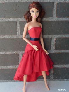 Vestido para Barbie.