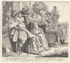 Visus / Het Gezicht, Cornelis van Kittensteyn, Claes Jansz. Visscher (II), 1620 - 1652