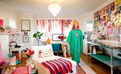 At Home with Tiffany Pratt Tiffany Pratt, Edgy Chic, Dressing Rooms, Design Styles, Color Splash, Closets, Spectrum, Blog, Interiors