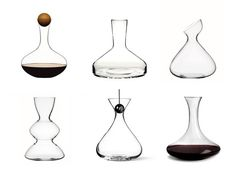 I love wine decanters. They always have such beautiful fluid shapes.