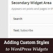 Add Custom Styles to WordPress Widgets Using the Widget CSS Classes Plugin