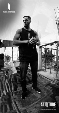 ''No colour will ever be brighter for me than Black and white''. Attiitude modeblack and white Tanks. #myattiitude #alternativefashion #menswear #newcollection #blackandwhite #shoot