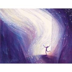 By Mary Southard Ecstatic Dance Solstice Moon, Rainbow Promise, Inspiration Artistique, Child Of The Universe, Oil On Canvas, Canvas Prints, Music Of The Night, Dream Images, Prophetic Art